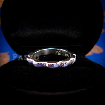 แหวนกงจักร แหวนเงินแท้  #9