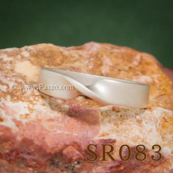 แหวนบิดเกลียว แหวนเงิน แหวนแห่งความผูกพัน #5