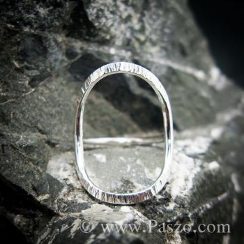 แหวนเงิน ดีไซน์นำแฟชั่น แหวนเงินแท้ #4