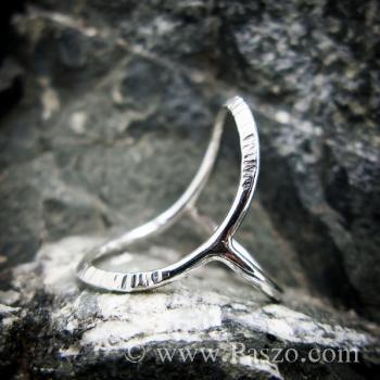 แหวนเงิน ดีไซน์นำแฟชั่น แหวนเงินแท้ #6