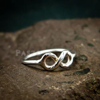 แหวนแห่งรักนิรันดร์ Infinity แหวนเงิน #2