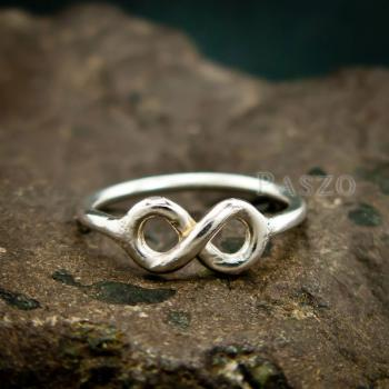 แหวนแห่งรักนิรันดร์ Infinity แหวนเงิน #4