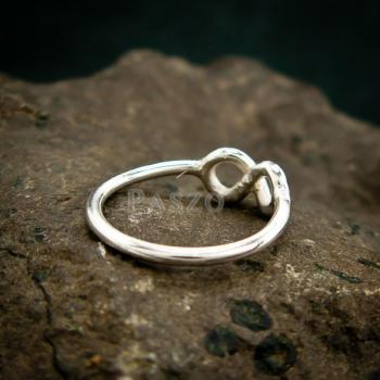 แหวนแห่งรักนิรันดร์ Infinity แหวนเงิน #5