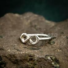 แหวนแห่งรักนิรันดร์ Infinity แหวนเงิน แหวนแห่งความผูกพัน
