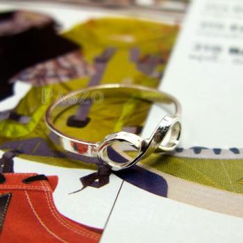 แหวนอินฟินิตี้ แหวนเงินแท้ 925 #3