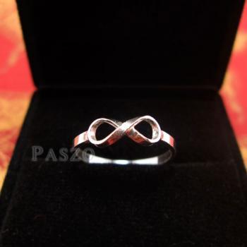 แหวนอินฟินิตี้ แหวนเงินแท้ 925 #4