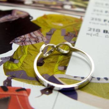 แหวนอินฟินิตี้ แหวนเงินแท้ 925 #5