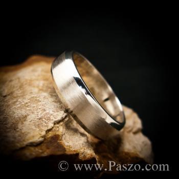 แหวนตะไบขอบเฉียง หน้ากว้าง8มิล ตรงกลางปัดด้าน #5