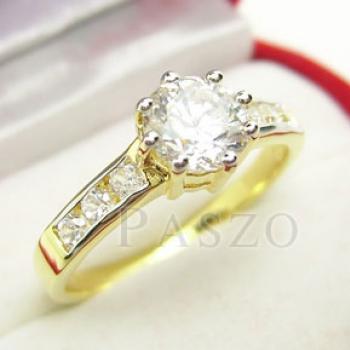 แหวนเพชร แหวนทองแท้ ฝังเพชร #3