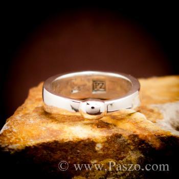 แหวนเงินแท้ 925 แหวนเกลี้ยง #2