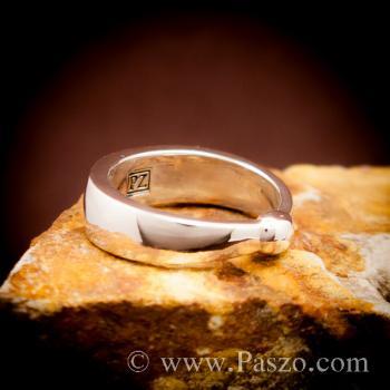 แหวนเงินแท้ 925 แหวนเกลี้ยง #3