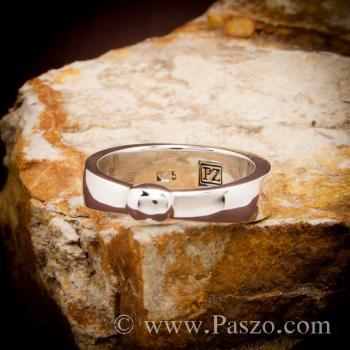แหวนเงินแท้ 925 แหวนเกลี้ยง #4