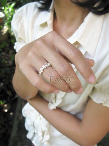 แหวนกุหลาบ แหวนมงกุฏดอกกุหลาบ แหวนเงินแท้ #7