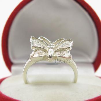 แหวนผีเสื้อ แหวนเงินแท้ 925 #4